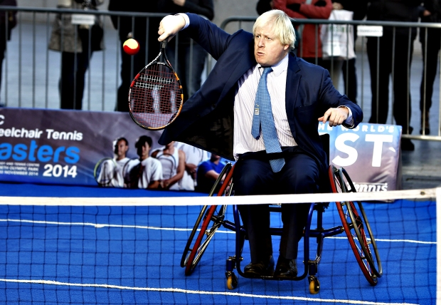NEC Wheelchair Tennis Masters photocall - London...Mayor of Lond