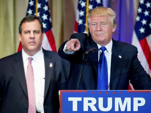 Donald Trump - Chris Christie