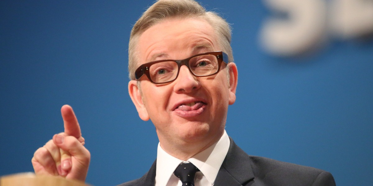 Everybody laughs as Michael Gove makes promises