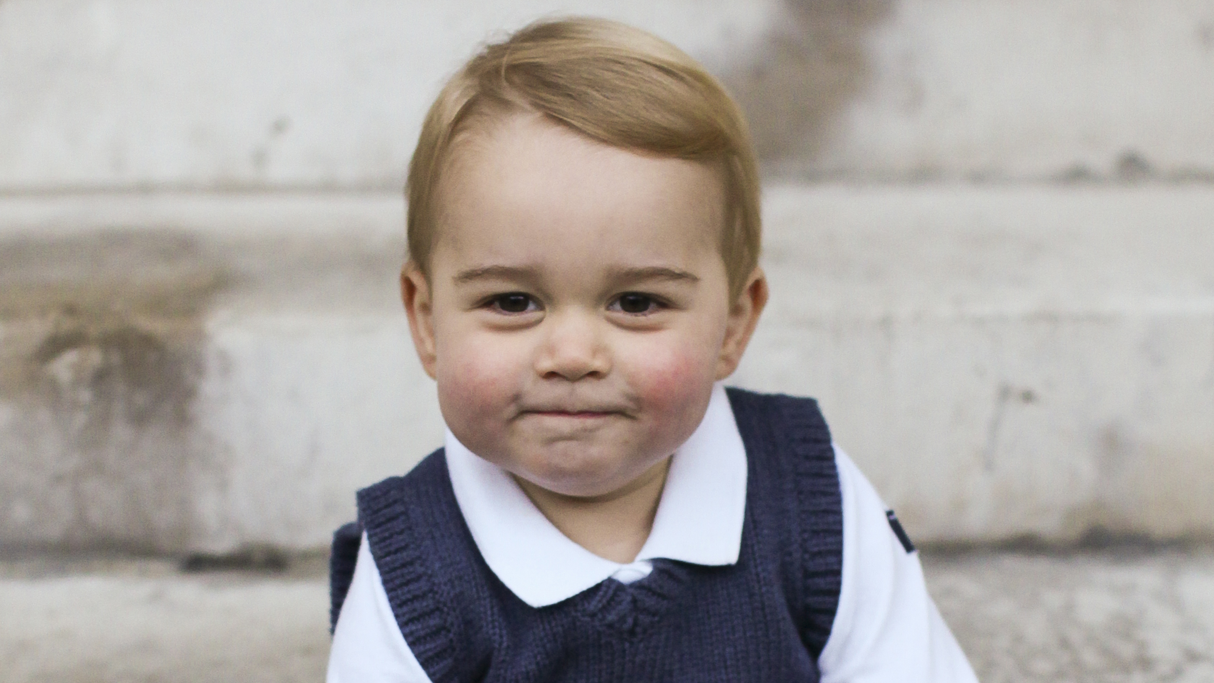Prince George Looks Exactly Like A Young WilliamHarry At Royal Wedding picture