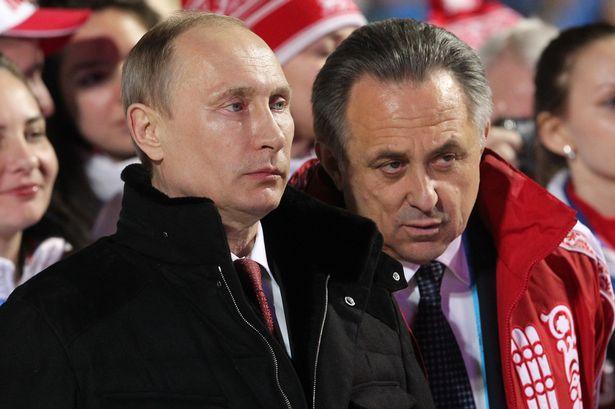 Putin and Mutko