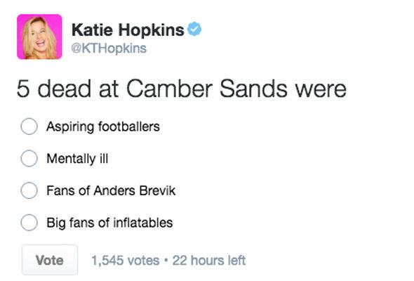 Hopkins tweet